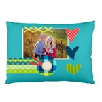 Playful Hearts - Pillow Case