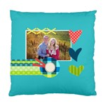 Playful Hearts - Standard Cushion Case (One Side)