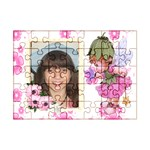 morning Glory fairy 7 x 5 puzzle - Acrylic Jigsaw Puzzle (7  x 5 )