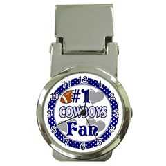 Cowboys Fan Money Clip Watch by lextrading