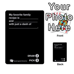 Cah Custom Deck Template 1 By Steven   Multi Purpose Cards (rectangle)   Q8jlzb3bd6re   Www Artscow Com Front 49