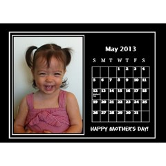 Nonna C1 By Michelle   Desktop Calendar 8 5  X 6    S77gwn4g2nf7   Www Artscow Com May 2013