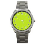 Green watch - Sport Metal Watch
