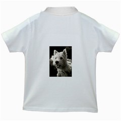 Westie Puppy White Kids'' T Shirt by Koalasandkangasplus