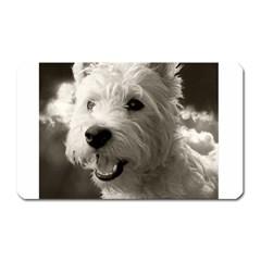 Westie.puppy Large Sticker Magnet (Rectangle) by Koalasandkangasplus