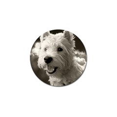 Westie.puppy Golf Ball Marker by Koalasandkangasplus