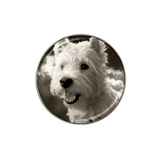 Westie.puppy Golf Ball Marker (for Hat Clip) by Koalasandkangasplus