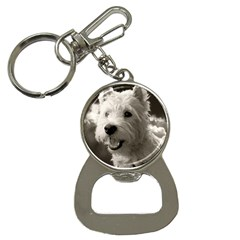 Westie Puppy Key Chain With Bottle Opener by Koalasandkangasplus