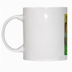 Green Gold Swaggie White Coffee Mug by Koalasandkangasplus