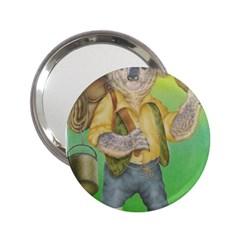 Green Gold Swaggie Handbag Mirror by Koalasandkangasplus