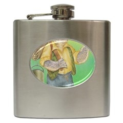 Green Gold Swaggie Hip Flask by Koalasandkangasplus