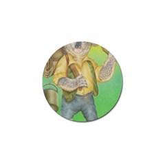 Green Gold Swaggie 4 Pack Golf Ball Marker by Koalasandkangasplus