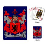 Red Knight Playing Cards - Playing Cards Single Design