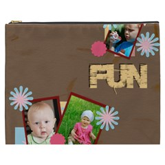 Fun By Jacob   Cosmetic Bag (xxxl)   2dv48vapgzrc   Www Artscow Com Front