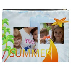 Summer By Jacob   Cosmetic Bag (xxxl)   P3p70wgbffxk   Www Artscow Com Back