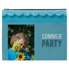 Summer Party By Jacob   Cosmetic Bag (xxxl)   R8q6cvtjbaw8   Www Artscow Com Front