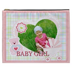 Baby Girl By Jacob   Cosmetic Bag (xxxl)   36mqgme5zk1x   Www Artscow Com Front