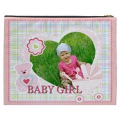 Baby Girl By Jacob   Cosmetic Bag (xxxl)   36mqgme5zk1x   Www Artscow Com Back