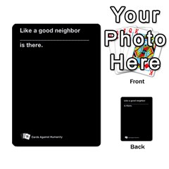 Cah Custom Deck Template 2 By Steven   Multi Purpose Cards (rectangle)   Ntbtzod69did   Www Artscow Com Front 51