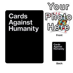 Cah Custom Deck Template 2 By Steven   Multi Purpose Cards (rectangle)   Ntbtzod69did   Www Artscow Com Back 52