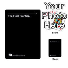 Cah Custom Deck Template 2 By Steven   Multi Purpose Cards (rectangle)   Ntbtzod69did   Www Artscow Com Front 54