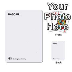Cah Custom Deck Template 2 By Steven   Multi Purpose Cards (rectangle)   Ntbtzod69did   Www Artscow Com Front 18