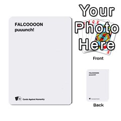 Cah Custom Deck Template 2 By Steven   Multi Purpose Cards (rectangle)   Ntbtzod69did   Www Artscow Com Front 30