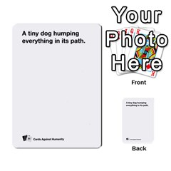 Cah Custom Deck Template 2 By Steven   Multi Purpose Cards (rectangle)   Ntbtzod69did   Www Artscow Com Front 38