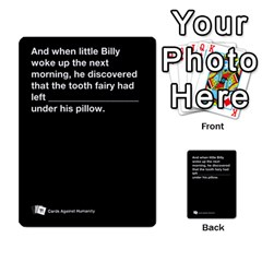 Cah Custom Deck Template 2 By Steven   Multi Purpose Cards (rectangle)   Ntbtzod69did   Www Artscow Com Front 49
