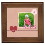 love kids - Framed Tile