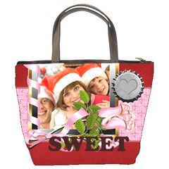 Merry Christmas By Mac Book   Bucket Bag   Vq4bznvsopa2   Www Artscow Com Back