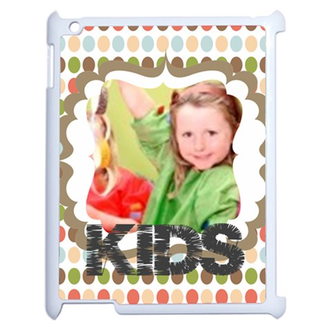 Kids By Mac Book   Apple Ipad 2 Case (white)   Odu349qutrq4   Www Artscow Com Front