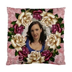 Roses And Lace 2 Cushion Case (2 Sided) By Deborah   Standard Cushion Case (two Sides)   Gz2hnjza4s61   Www Artscow Com Front