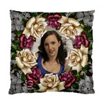 Roses and Lace Cushion Case (2 Sided) - Cushion Case (Two Sides)