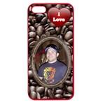 Love Coffee Apple Seamless iPhone 5 Case - Apple Seamless iPhone 5 Case (Color)