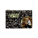 Coffee Cosmetic Bag (Medium)