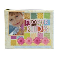 Flower Of Kids By Jo Jo   Cosmetic Bag (xl)   Vq5xzfhh1g8g   Www Artscow Com Front