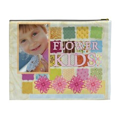 Flower Of Kids By Jo Jo   Cosmetic Bag (xl)   Vq5xzfhh1g8g   Www Artscow Com Back