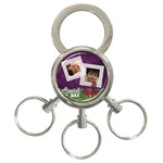 333 - 3-Ring Key Chain