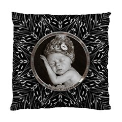 Pretty Black Cushion Case (2 Sided) By Lil    Standard Cushion Case (two Sides)   4o8g8l4cj1dm   Www Artscow Com Front