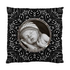 Pretty Black Cushion Case (2 Sided) By Lil    Standard Cushion Case (two Sides)   4o8g8l4cj1dm   Www Artscow Com Back