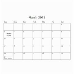 Robbie By Lindy Hafner   Wall Calendar 8 5  X 6    Fmp5ycolrryg   Www Artscow Com Mar 2013