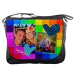 Rainbow Stitch Messenger Bag