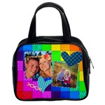 Rainbow Stitch - Classic Handbag (Two Sides)
