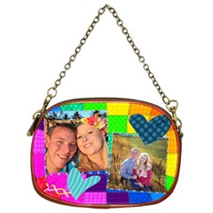 Rainbow Stitch By Digitalkeepsakes   Chain Purse (two Sides)   Fxf59p4s7tbd   Www Artscow Com Back