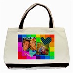 Rainbow Stitch - Basic Tote Bag (Two Sides)