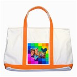Rainbow Stitch - Two Tone Tote Bag