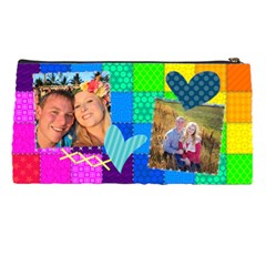 Rainbow Stitch By Digitalkeepsakes   Pencil Case   Ijj5ds1xsmbh   Www Artscow Com Back