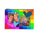 Rainbow Stitch - Cosmetic Bag (Large)