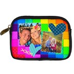 Rainbow Stitch - Digital Camera Leather Case